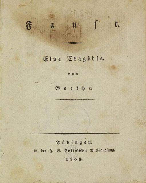 Faust essay