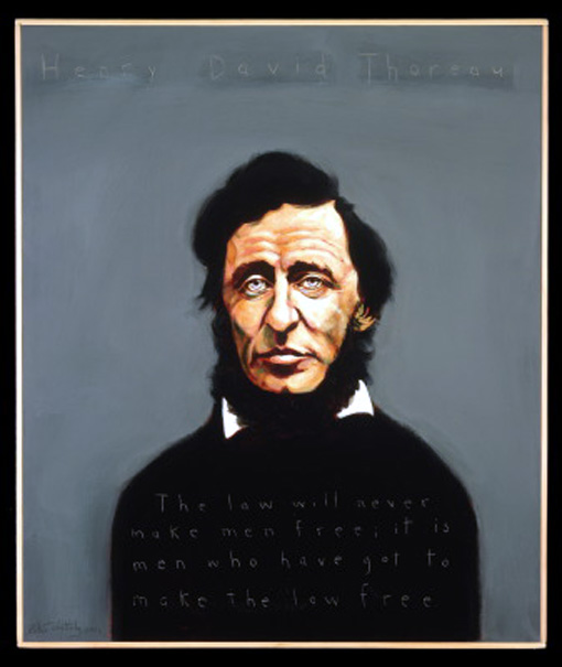 Great Philosophers Who Failed at Love by Andrew Shaffer, Henry David Thoreau
