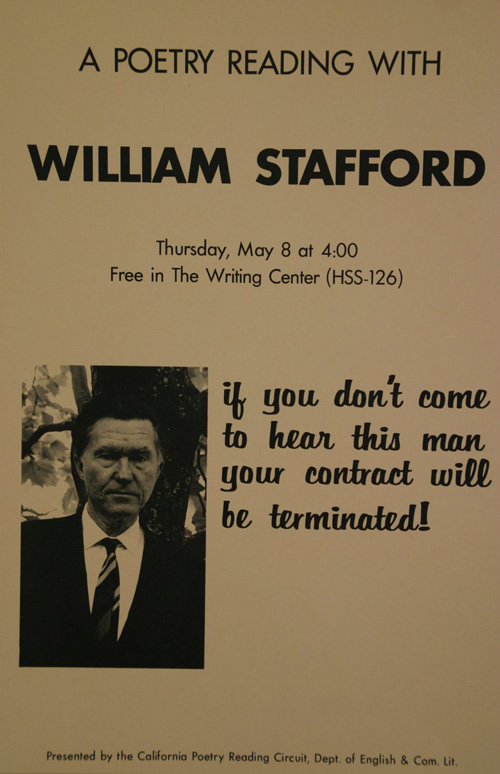 a way of writing by william stafford William stafford has 87 books on goodreads with 6831 ratings william stafford's most popular book is the way it is: new and selected poems.