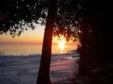 Good morning Lake Michigan - Photo by Norbert Blei
